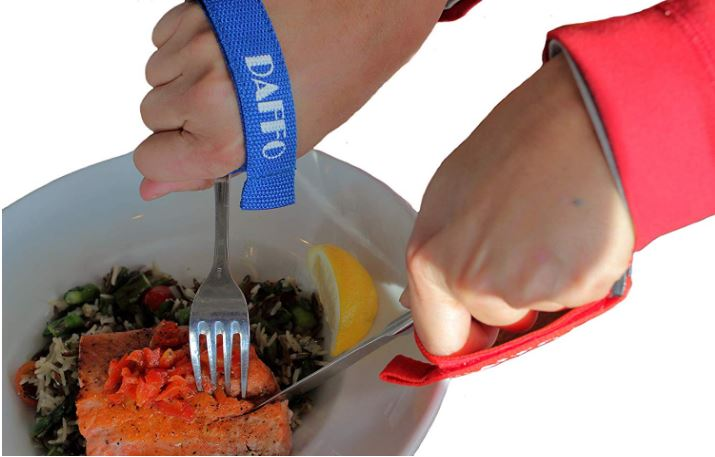 Daffo Eating Aid Adjustable & Detachable Hand Strap